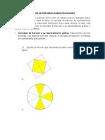 Taller de Refuerzo Sobre Fracciones