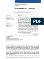 Performance Evaluation of UWB Wireless Link