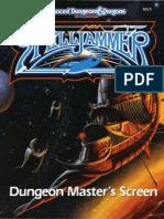 AD&D - 2nd Ed. - Spelljammer - Dungeon Master's Screen (SJR3) (TSR 9313)