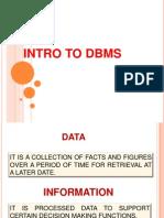 01 Intro Dbms