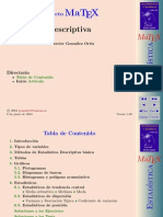 Matex descriptiva