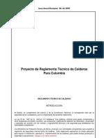 Reglamento Tecnico Calderas