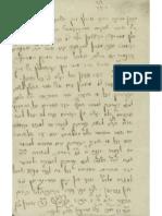 CursoDeLadino.com.ar - Verdict Handwritten by Rabbi Aharon Katz of Paderborn (soletreo)