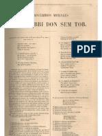 CursoDeLadino.com.ar - Proverbios morales - Shem Tob de Carrión