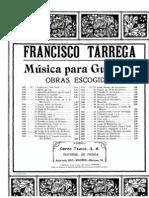 Francisco Tarrega - El Raton - Tango de La Cadera Guitar