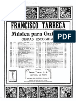 Francisco Tarrega - Maria Gavota for Guitar