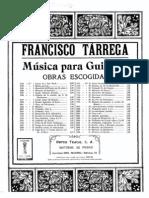 Francisco Tarrega - Maria Gavota for Guitar