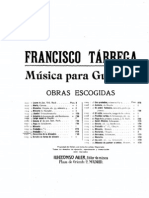 Francisco Tarrega - Preludio No7 for Guitar