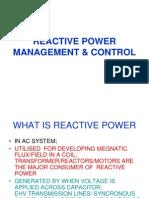 Reactive Power Management & Control