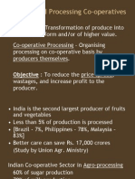 Agro and Food Processing Co-Operatives