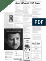 Dr. Majid Naini - Iran Times Article - Norooz English Edition