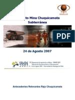 Proyecto Chuquicamata Subterranea-Www.mineriacapma.blogspot