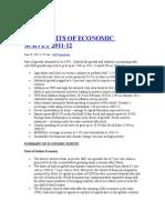 Highlights of Economic Survey 2011