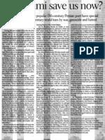 San Franciso Chronicle - Dr. Majid Naini