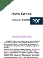 Dinda Anemia Hemolitik