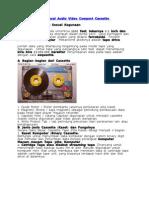 Alat Reproduksi Sinyal Audio Video Compact Cassette.doc Dmassssssss