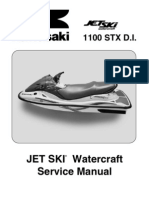Kawasaki Jet Ski Watercraft 1100 STX D.I. '03 (JT1100-G1) - Service Manual