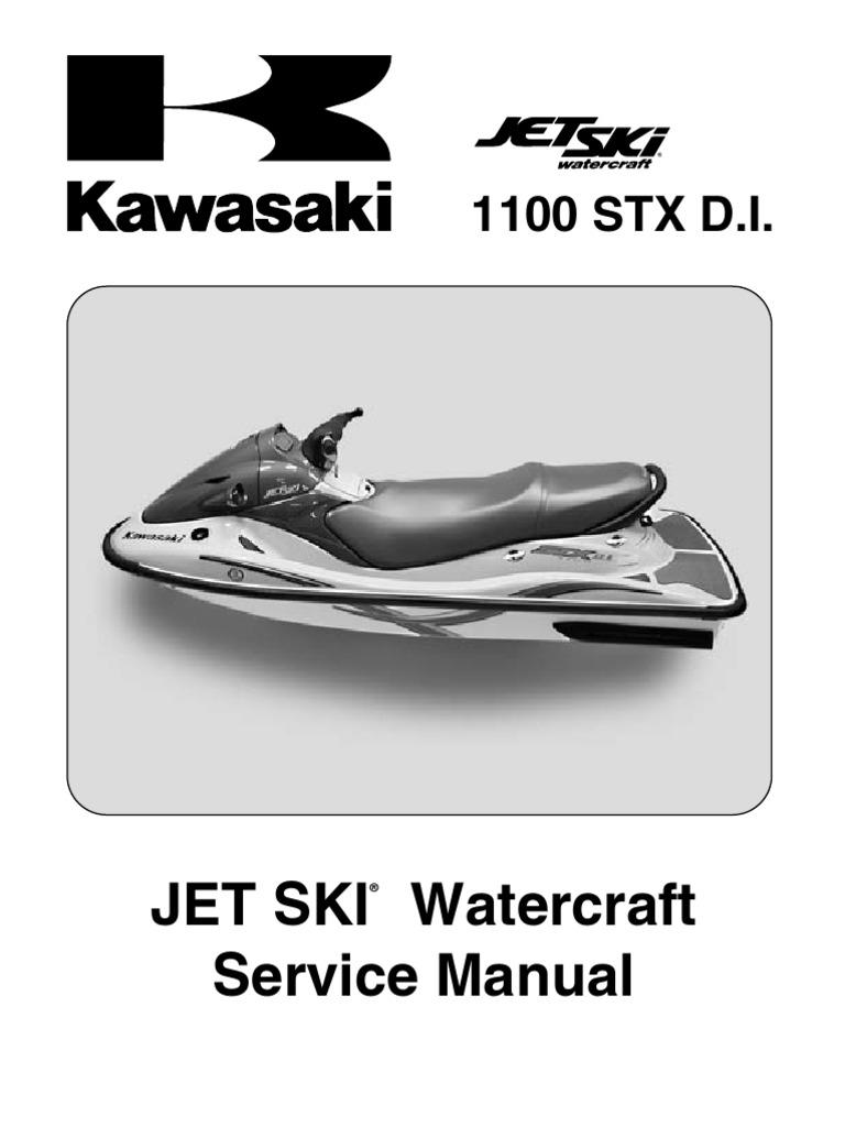 Kawasaki Jet Ski Watercraft 1100 STX D.I. '03 (JT1100-G1) - Service Manual    Fuel Injection   Internal Combustion Engine