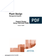 PDMS Support Design Using