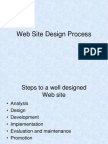 Web Site Design Process