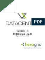 VxDatacenter 1.5 v1.5.4 Documentation VxDatacenter Installation Guide 1.5.4
