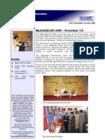 OSCC MAMPU Oct 2008 Newsletter