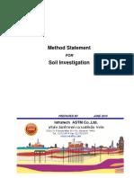 Method SoilInvestigation