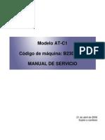 Manual de Servicio Aficio MPC2500