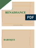Post Renaissance