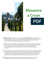 Manastirea Crisan