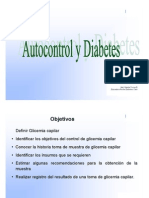 Autocontrol en Diabetes