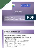 Ubuntu 9.04 Install