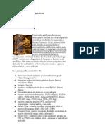 Software e equipamentos auxiliares para perícia