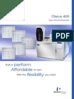 Clarus 400 GC Brochure