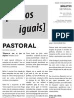 Boletim Semanal 05/08/2012 a 11/08/2012