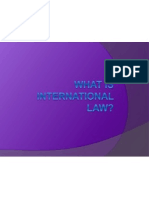 what is international law