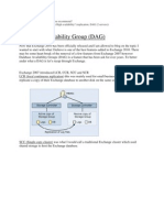 Database Availability Group(1)