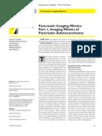 Pancreatic Imaging Mimics - Ajr