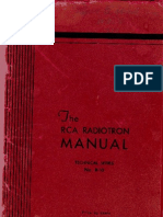 The RCA Radiotron Manual RC10