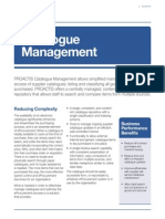 Catalogue Management