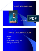 Tecnica de Aspiracion