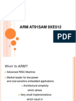 Arm At91sam 9xe512