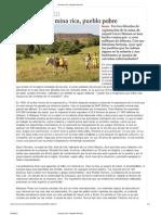 Dinamica Economicoproductiva-cerro Matoso-la Contradiccion