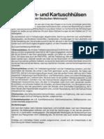 Patronen- und Kartuschhülsen der Deutschen Wehrmacht