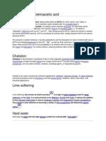 Ethylenediaminetetraacetic Acid