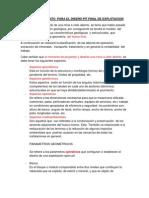 DISEÑO DE TALUDES  EN OPEN PIT-2012