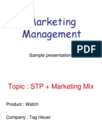 Tag Heur Presentation (2)