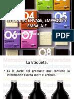 Empaque, Embase y Etiqueta