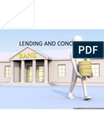 Lending and Concepts