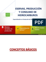 RESERVAS, PRODUCCION Y CONSUMO DE HC´S (1)